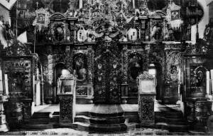 1911 год. Иконостас Церкви.