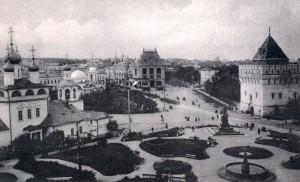 Благовещенская площадь. (пл. Минина и Пожарского)