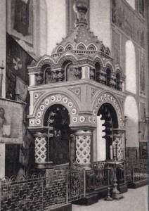 Часовня-гробница К.Минина в Спасо-Преображенском Кафедральном соборе Кремля