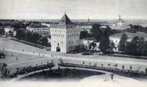 Дмитриевская башня кремля
