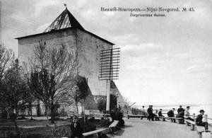 Георгиевская башня Нижегородского кремля