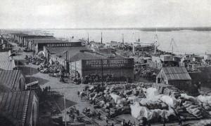 Склады сибирских пристаней