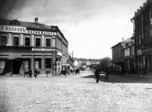 Вид на Осыпную улицу