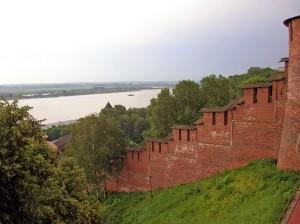Фото кремлевской стены Нижний Новгород.