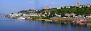 Речной вокзал Нижнего Новгорода.