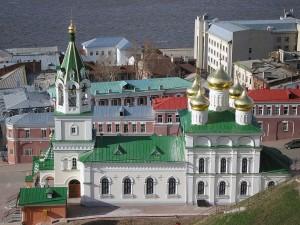 Храмы, церкви и соборы Нижнего Новгорода.