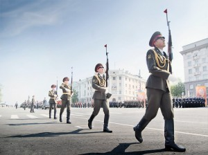 Парад 65 лет со Дня Победы.