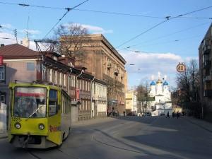 Фото трамвая номер 2 в Нижнем Новгороде.