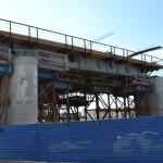 Фото строительства метромоста Нижний Новгород 2011.